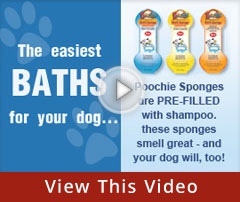 hvpet poochie sponges easy bath